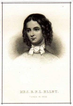 "The daughter of Dr. Willam N. Lummis, born in Sodus Point, New Yor. She wrote a three-volume book, WOMEN OF THE AMERICAN REVOLUTION (1848), ""derived from original sources,"" followed by many other books, including DOMESTIC HISTORY OF THE AMERICAN REVOLUTION (1850), WATCHING SPIRITS (1851), PIONEER WOMEN OF THE WEST (1852), QUEENS OF AMERICAN SOCIETY (1865), and THE COURT CIRCLES OF THE REPUBLIC, OR THE BEAUTIES AND CELEBRITIES OF THE NATION (1869)."