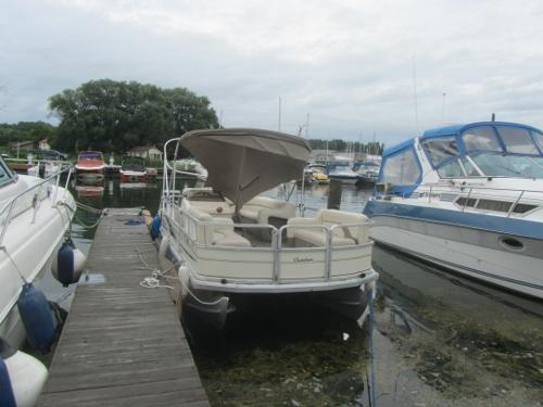 Boat Damage  torn Bimini