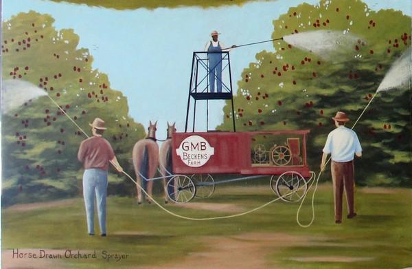Horse Drawn Orchard Sprayer 600x391