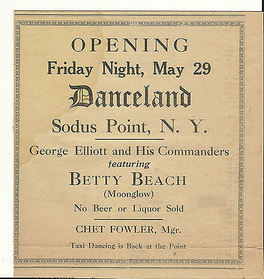 May 29 1936 Ad for Taxi Dancing