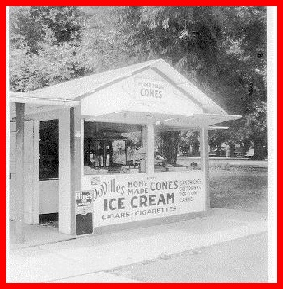 DoVilles Ice Cream Stand Photo