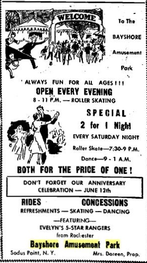 Bayshore May 27 1954 Lyons NY Republican